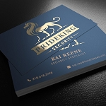 14pt Matte Foil Business Cards