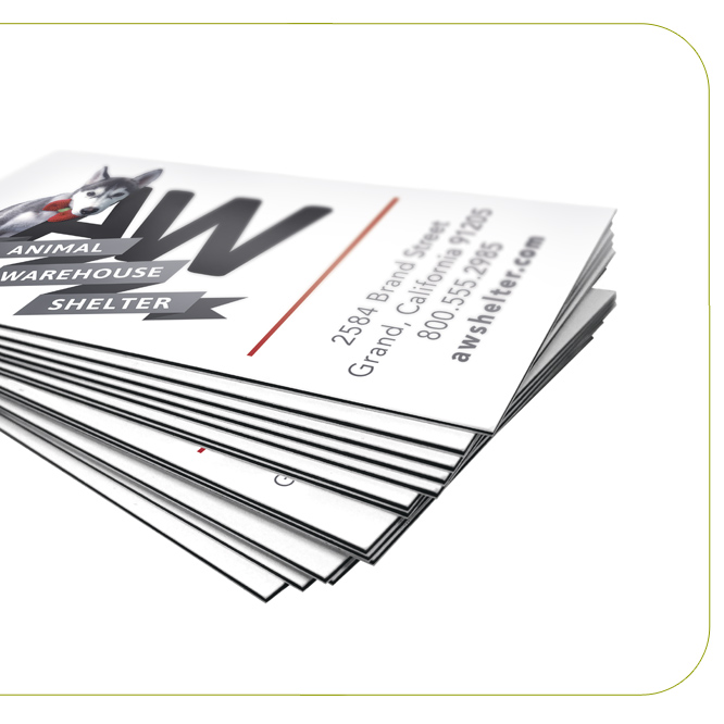 32pt Standard EDGE Business Cards