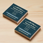Silk Laminated Square Cards