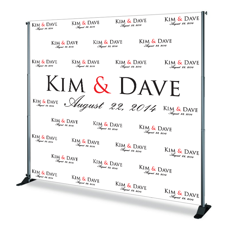 Step & Repeat (Banner + Stand)
