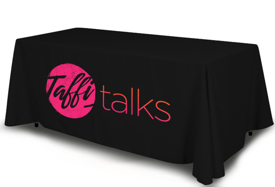 Full-Color Tablecloth 8 ft