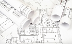 Blueprints - Black & White on 28lb White Paper